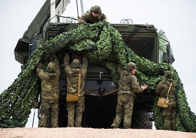 Un regimiento de S-400 desplegado en Crimea