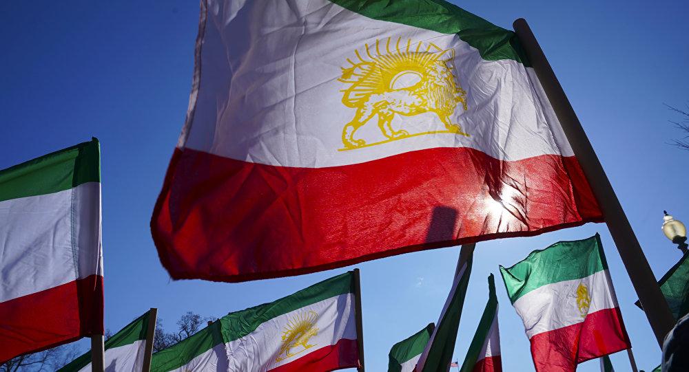 Las banderas de Irán