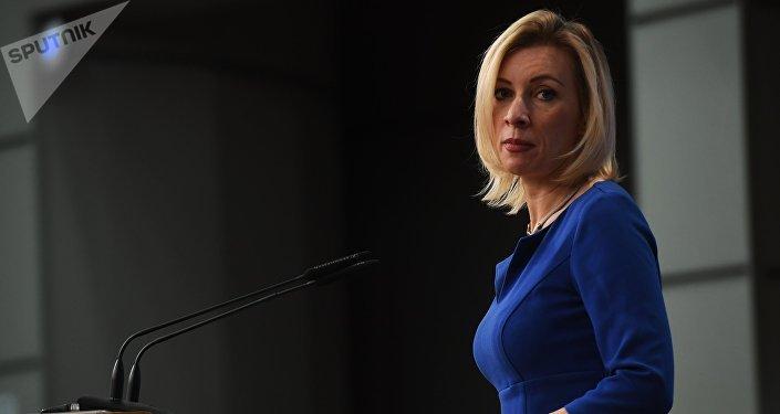 María Zajárova, portavoz del Ministerio de Exteriores de Rusia (archivo)