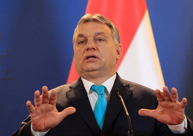 Víktor Orban, primer ministro de Hungría