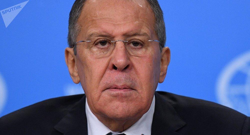 Serguéi Lavrov, el ministro de Asuntos Exteriores ruso