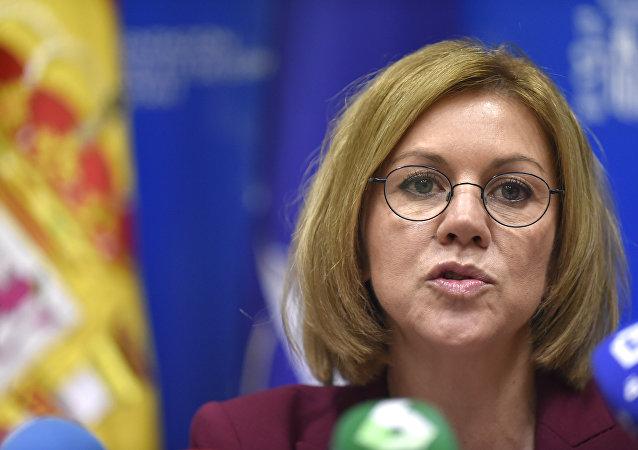 María Dolores de Cospedal, ministra de Defensa de España