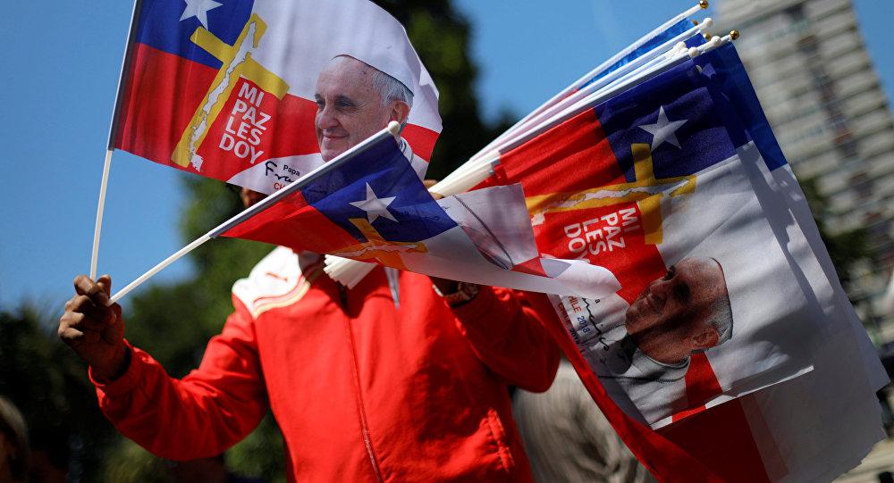 El Papa llegó a Chile — Visita histórica