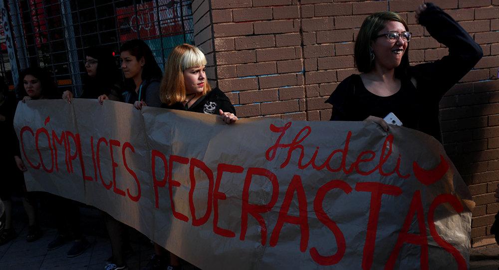 Protestas en Chile durante la visita de Papa Francisco