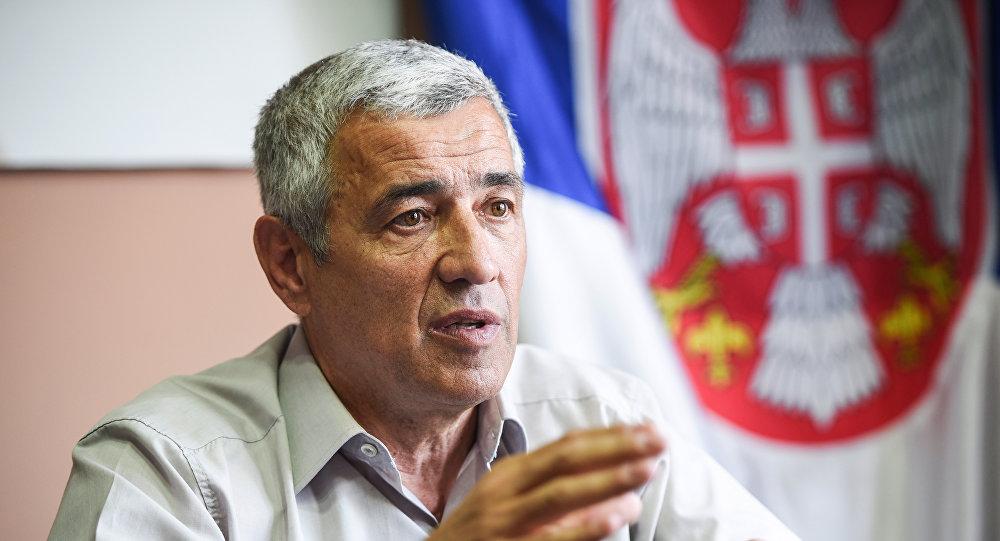 Oliver Ivanovic, político serbio asesinado (archivo)