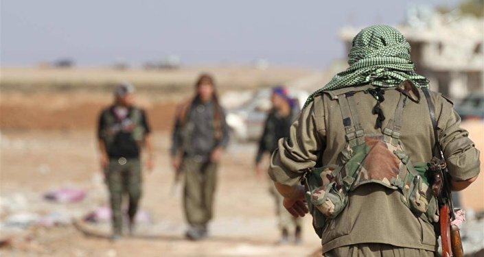 Los kurdos en Siria (archivo)