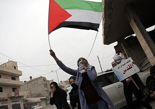 Protestas en Palestina (imagen referencial)