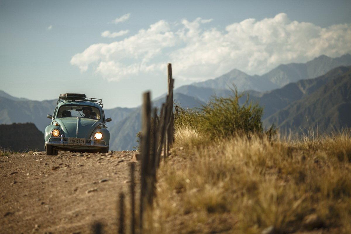 La Fusca en la Cordillera de los Andes