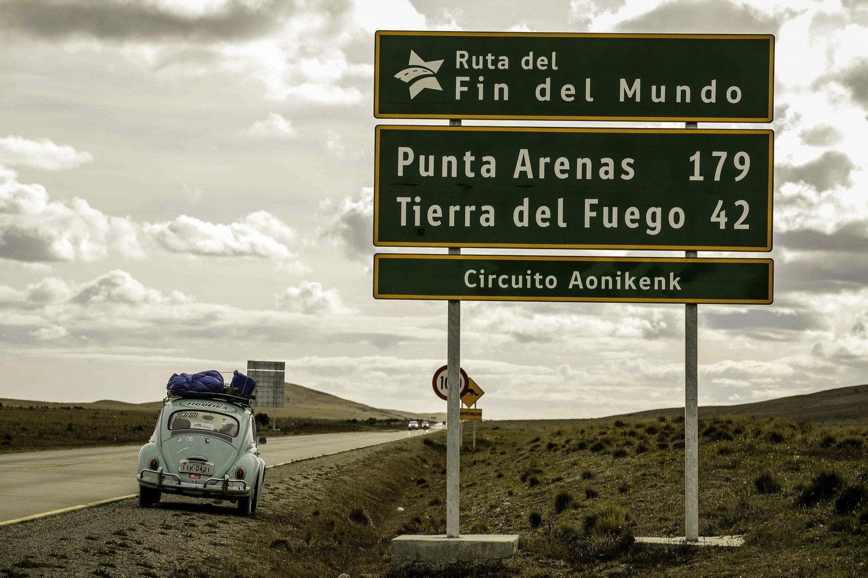Segundinho durante el viaje por la Patagonia chilena