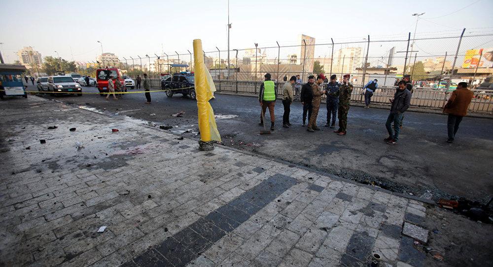 El doble atentado terrorista en Bagdad, Irak