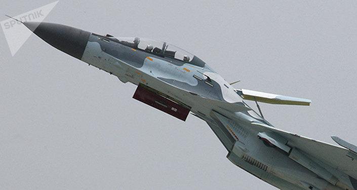 Un caza ruso Su-30 (archivo)