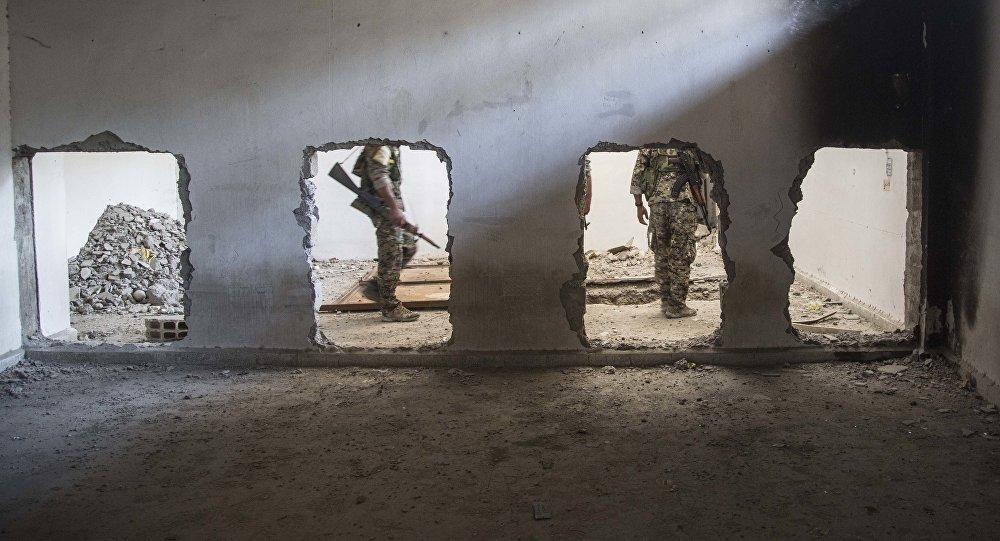 Soldados en Siria (archivo)