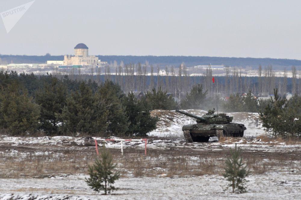 El fuego del que no se puede escapar: el Biatlón de Tanques comienza en Rusia