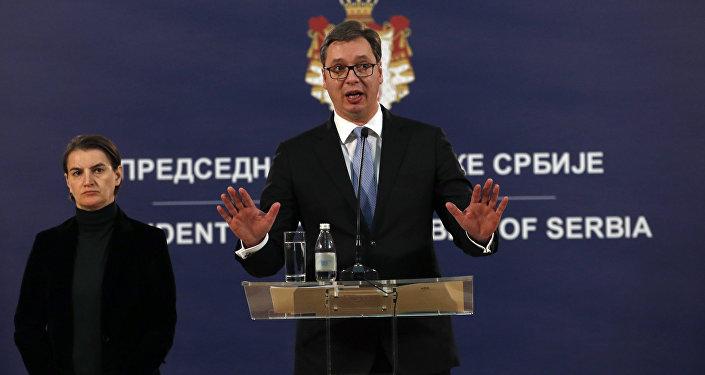 Aleksandar Vucic, el presidente de Serbia