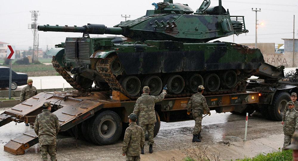 Alemania suspende la actualización a los tanques de Turquía — Guerra de Siria