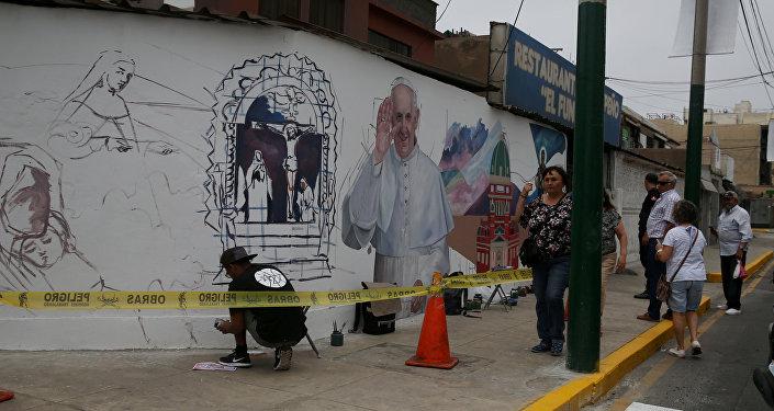 La situación en Lima antes de la visita del Papa, Perú