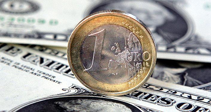 Éuro y dólar
