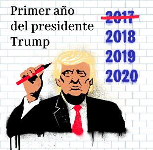 ¿Promesas cumplidas? Balance del primer año en la Presidencia de Trump