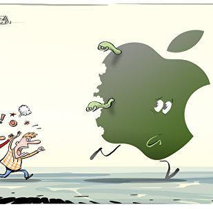 A Apple se la comen viva