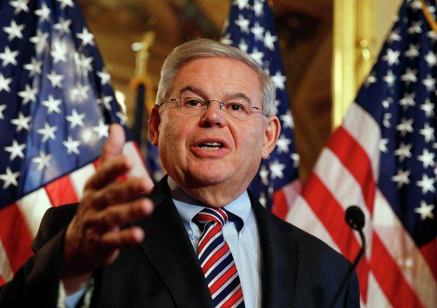 Robert Menéndez, senador demócrata