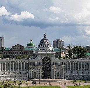 El Palacio de los Agricultores, en Kazán