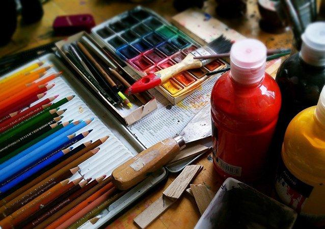 Materiales de dibujo