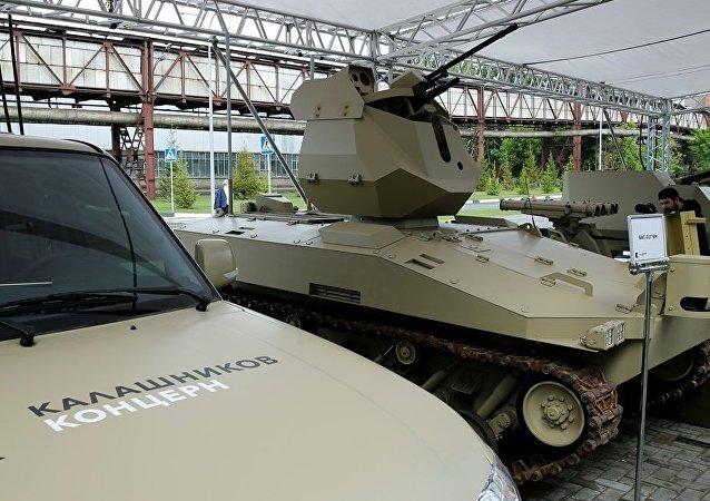 Soratnik, el robot de combate diseñado por Kalashnikov