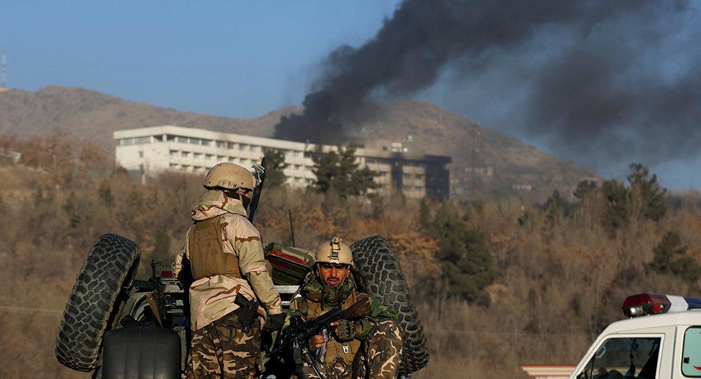 Operación militar durante el ataque contra el Hotel Intercontinental de Kabul, Afganistán