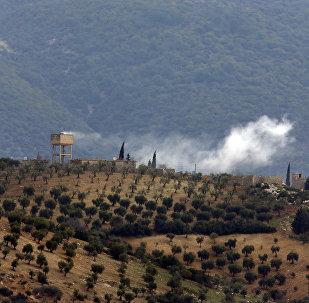 Afrín, Siria, tras un ataque del ejército turco