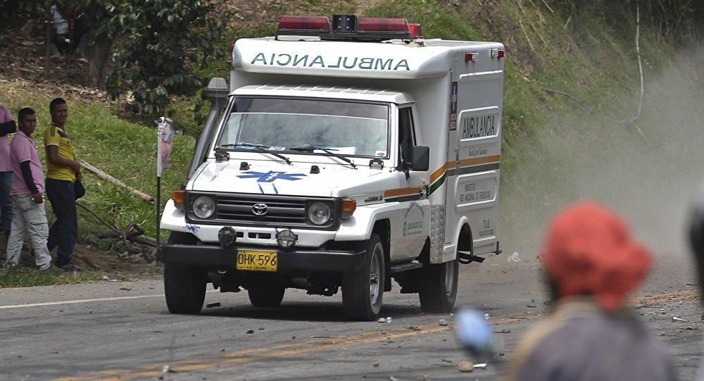 Ambulancía colombiana (imagen referencial)