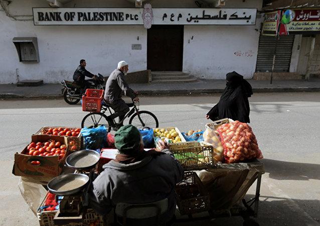 Huelga comercial en la Franja de Gaza