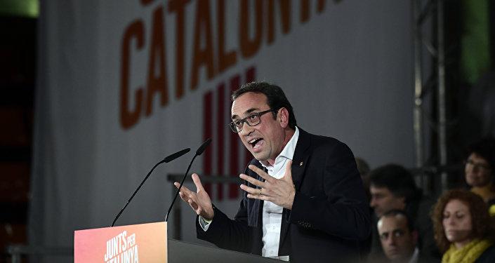 Josep Rull, diputado de Junts per Catalunya (JxCat)