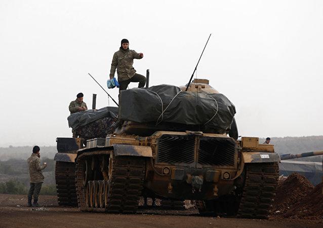 Fuerzas Armadas de Turquia en la frontera con Siria