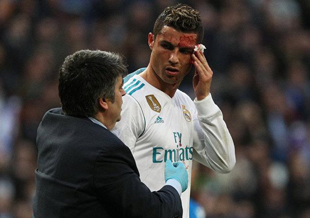Cristiano Ronaldo, jugador de fútbol portugués