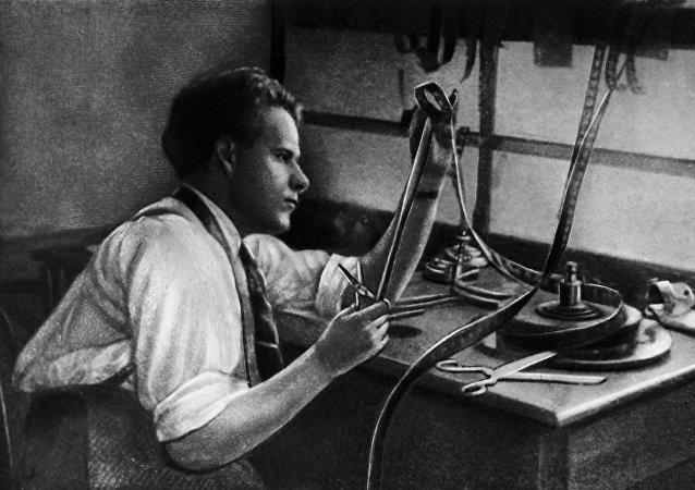 Serguéi Eisenstein, director de cine soviético