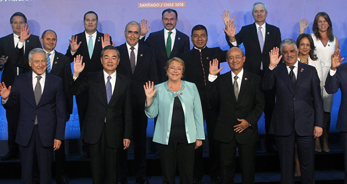 Cumbre CELAC-China en Santiago, Chile