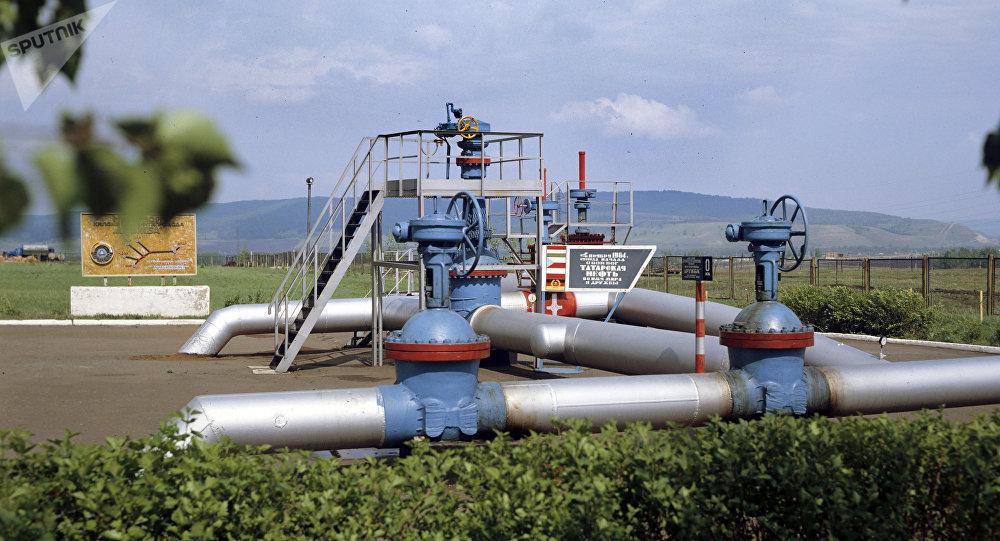 El punto de origen del oleoducto ruso Druzhba (archivo)