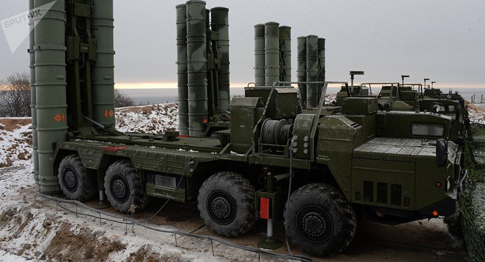 Sistema de defensa S-400 en la región de Vladivostok