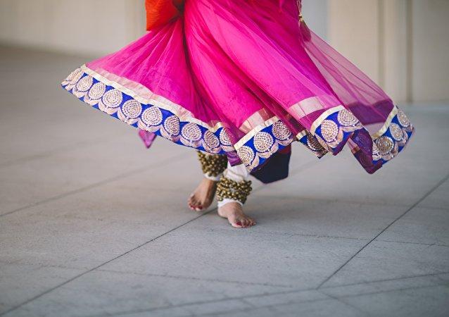 La danza india (imagen referencial)