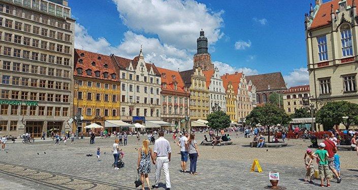 Ciudad de Breslavia (Polonia)