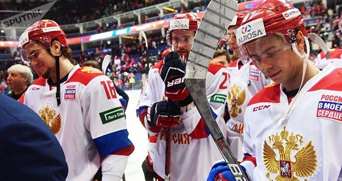 Selección rusa de hockey sobre hielo