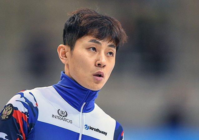 Víctor Ahn, patinador de velocidad en pista corta