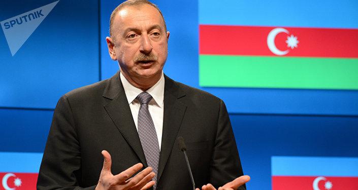 Iljam Aliyev, presidente azerbaiyano