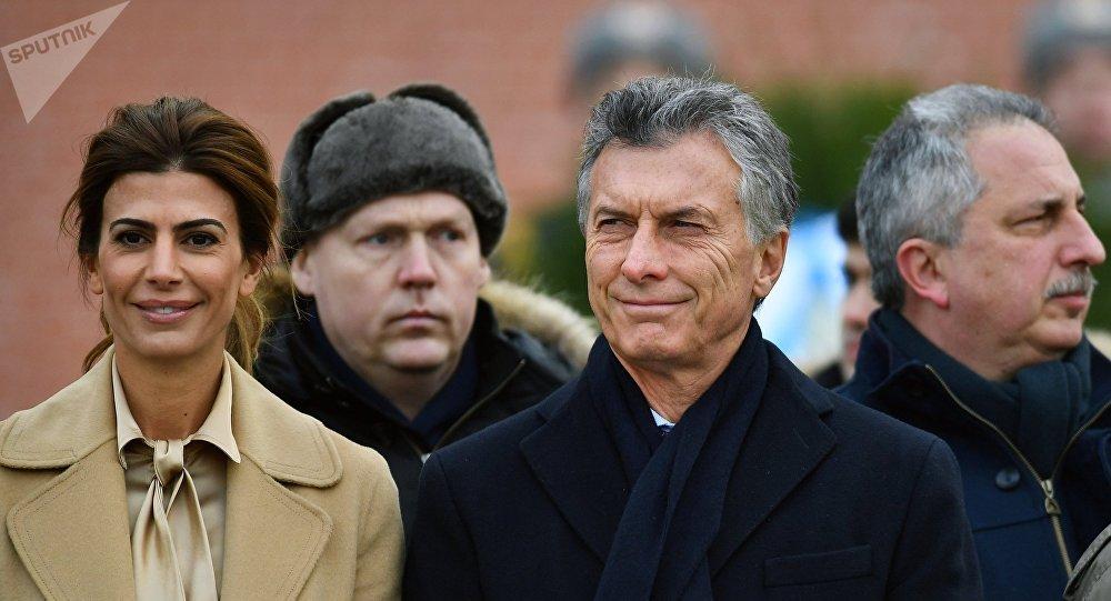 La visita del presidente argentino Mauricio Macri a Rusia (archivo)
