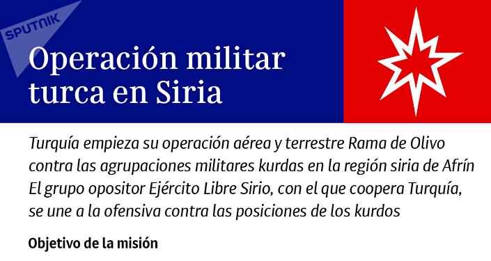 Operación Rama de Olivo: la ofensiva turca en Siria, al detalle