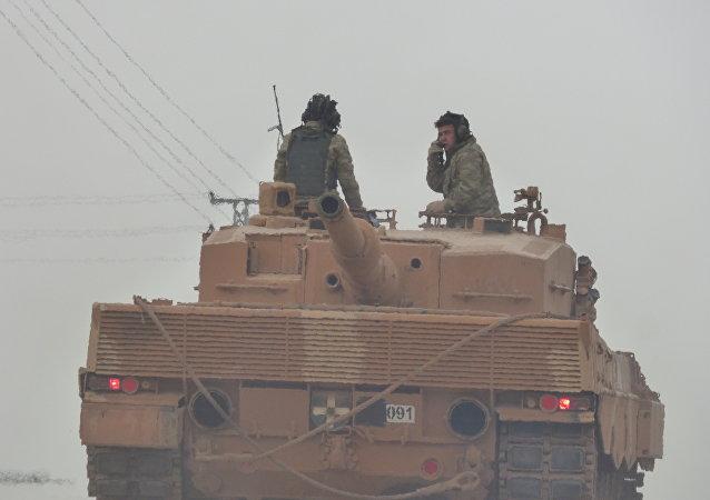 Operación turca en Afrín, Siria (archivo)