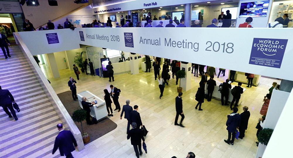 La 48 Reunión Anual del Foro Económico Mundial celebrada en la ciudad suiza de Davos