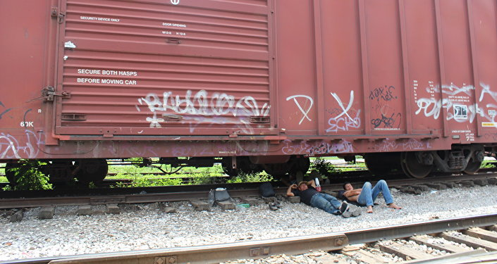 Migrantes en México (archivo)