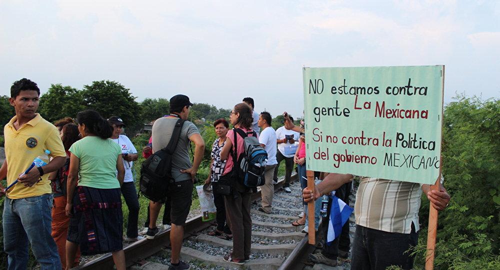 Migrantes en México