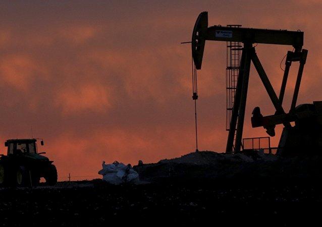 Una instalación para extracción de petróleo en Texas, EEUU (archivo)